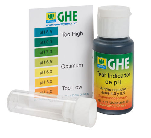 KIT TESTE PH GHE (30ml)