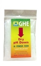 PH DECREASE GRAINY GHE 25g