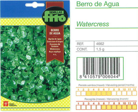 WATERCRESS SEED