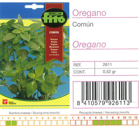 COMMON OREGANO SEED