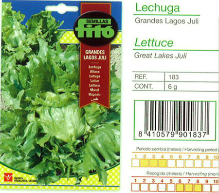 "LETTUCE ""GREAT LAKES"" SEED"