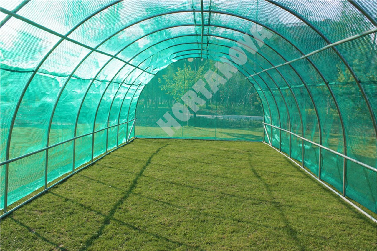 GREENHOUSE SHADING COVER GREEN 4X10X2,54m